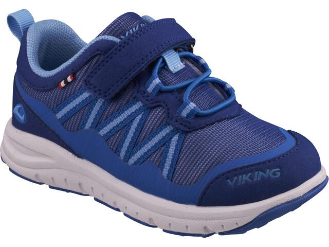 Viking Footwear Holmen Shoes Kinder dark blue/blue